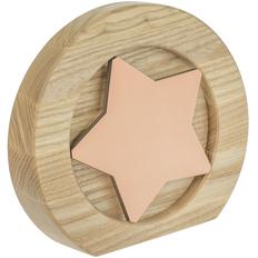 Стела Constanta Light, звезда вставка, светло-коричневая / бронзовая фото
