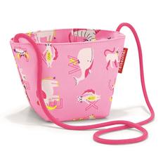 Сумка детская Reisenthel Minibag Abc Friends, розовая фото