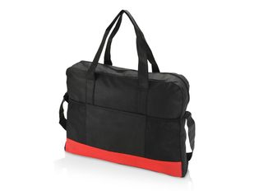 Конференц сумка для документов Outlook, черный, красный фото