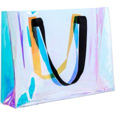 Сумка для покупок Molti Glare Flare, прозрачная / разноцветная фото