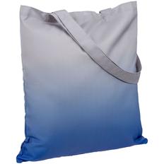 Сумка для покупок Molti Shop Drop, серая / синяя фото