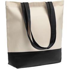 Сумка для покупок на молнии Shopaholic Zip, черная фото