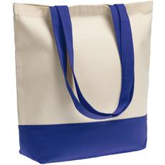 Сумка для покупок на молнии Shopaholic Zip, ярко-синяя фото