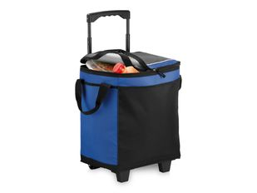 Сумка-холодильник California Innovations, выдвижная телескопическая ручка, черный/синий фото