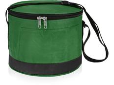 Сумка-холодильник Сен Тропе, черный, зеленый фото