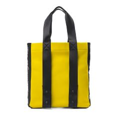 Сумка из неопрена, жёлто-чёрная фото