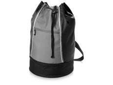 Сумка-мешок Brisbane, черный, серый фото