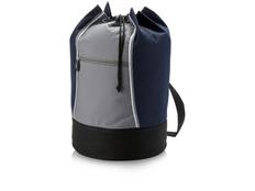 Сумка-мешок Brisbane, серый, синий фото