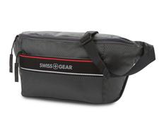 Сумка на пояс Swissgear, темно-серая фото