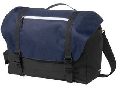 Сумка US Basic Oakland для ноутбука 15,6, на карабинах, синий/черный фото