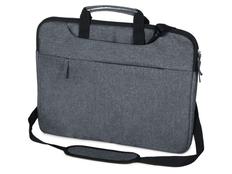 Сумка Plush c усиленной защитой ноутбука 15.6'', тёмно-серая фото