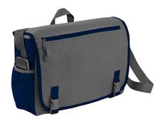 Сумка Punch для ноутбука 15,6, синий/ серый фото