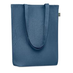 Сумка шопер хлопковая Naima Tote, синяя фото