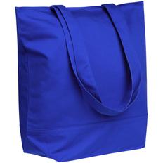 Сумка-шопер на молнии Shopaholic Zip, синяя фото