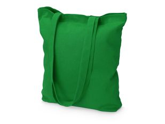 Сумка шоппер хлопковая Carryme 220, зеленая фото