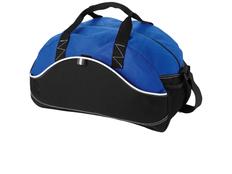 Сумка спортивная Boomerang, черный, синий фото