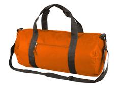 Сумка спортивная Айзек, оранжевая фото