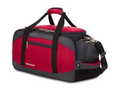 Сумка спортивная Swissgear, красная / серая фото