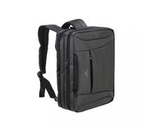 Сумка-трансформер Rivacase для ноутбука до 16'', черная фото