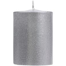 Свеча Lagom Care Metallic, серебристая фото