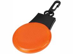 Светоотражатель Blinki, черный, оранжевый фото