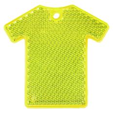 Светоотражатель Футболка, неон-желтый фото
