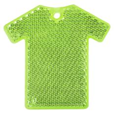 Светоотражатель Футболка, зеленый фото