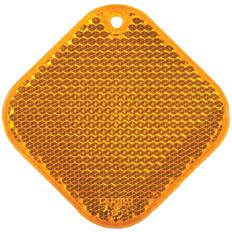 Светоотражатель Квадрат, оранжевый фото