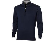 Пуловер на молнии мужской Slazenger Set, темно-синий фото