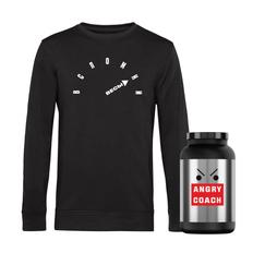 Свитшот Angry Coach «Вспомни весы», черный фото