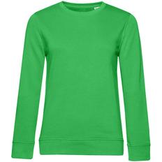 Свитшот женский BNC Organic, зеленый фото