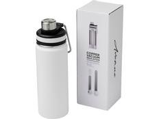 Термобутылка спортивная Gessi, белая фото