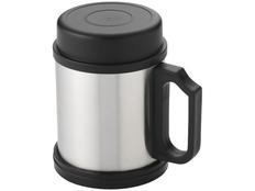 Кружка-термос Barstow, черный, серый фото