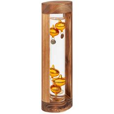 Термометр «Галилео» в деревянном корпусе, крафт фото
