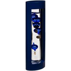 Термометр «Галилео» в деревянном корпусе, синий фото