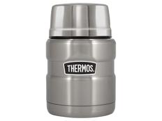 Термос для еды с ложкой Thermos SK3000, серый фото
