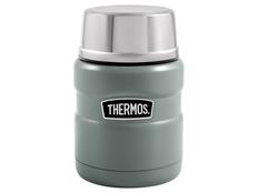 Термос для еды с ложкой Thermos SK3000, зелёный фото