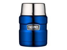 Термос для еды с ложкой Thermos SK3020, синий фото