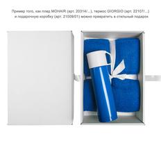 Термос GIORGIO, 500 мл, синий, белый фото
