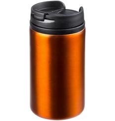 Термостакан Molti Canella, 250 мл., оранжевый фото
