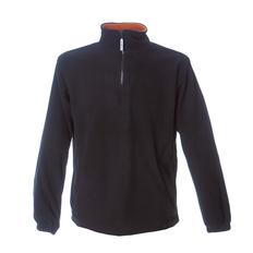 Кофта мужская JRC Estonia, чёрная/ оранжевая фото