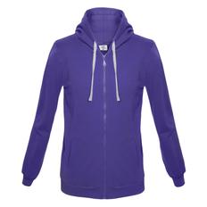 Толстовка с капюшоном на молнии Unit Siverga, фиолетовая фото
