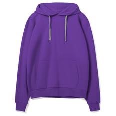 Толстовка с капюшоном Unit Kirenga, фиолетовая фото