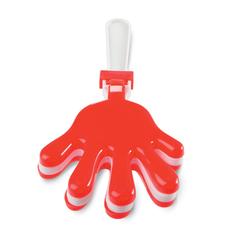 Трещотка (в виде руки), красный фото
