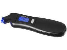 Цифровой манометр с фонариком 3 в 1, черный фото