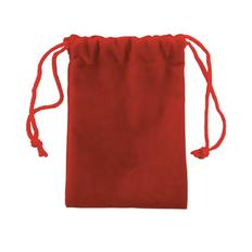 Упаковка Бархатный мешочек, красный фото