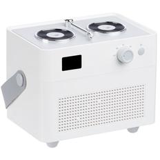 Увлажнитель-ароматизатор Molti Breathe at Ease беспроводной с подсветкой, белый фото