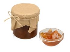 Варенье грушевое с яблоками и корицей в подарочной обертке фото
