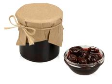 Варенье вишневое в подарочной обертке, бордовый фото