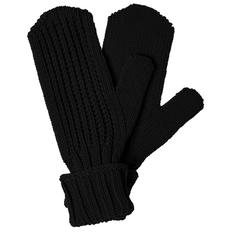 Варежки teplo Nordkyn, черные фото